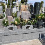 リフォームして品のある墓所が完成しました。館山市 墓石