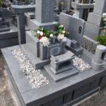 高級インド材を使用た品のある丘カロートの墓地が完成しました。館山市 墓石