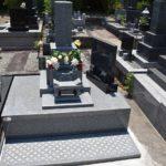 品のある高級墓石が完成しました。館山市